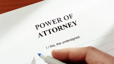 Photo of Power of attorney in Spanish